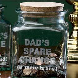 Dad's Spare Change Jar