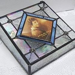Stained Glass Picture Box