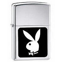 Playboy Bunny Black and White Zippo Lighter