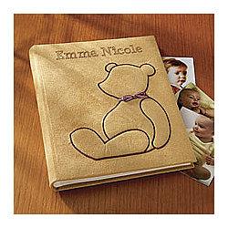 Personalized Teddy Bear Photo Album