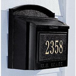 Wall Address Marker / Mailbox