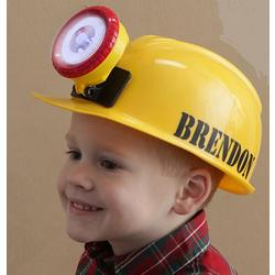 Personalized Kid's Construction Hard Hat