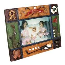 World of Golf Horizontal Picture Frame