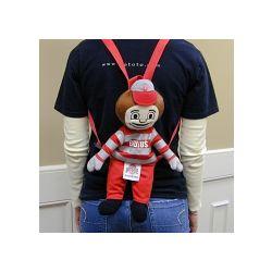 Ohio State Buckeyes Plush Mascot Backpack