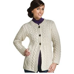 Merino Wool Fashion Cardigan