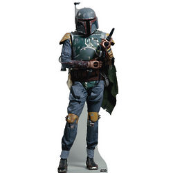 Star Wars Boba Fett Life-Size Cardboard Movie Standup