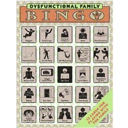 Dysfunctional Family Bingo