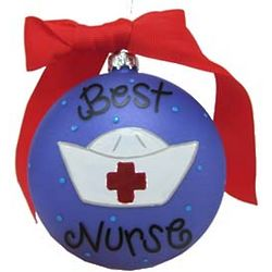 Best Nurse Christmas Ornament
