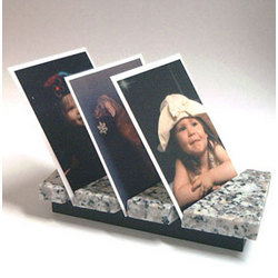 ArcStand Wallet Size Triple Photo Frame