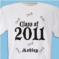 Graduation Personalized Class Year T-Shirt