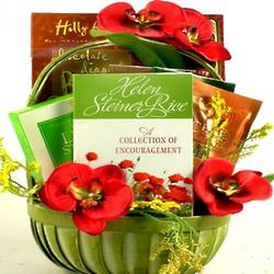 Encouragement Themed Gift Basket