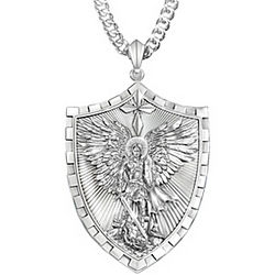 Son's Triumph of Saint Michael Pendant