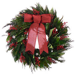 Jolly Jingle Dried Floral Wreath