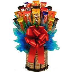 Heath and More Candy Bar Bouquet