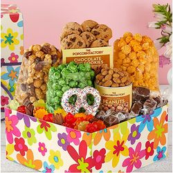 Spring Floral Snack Gift Box