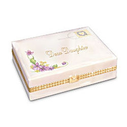 Dear Daughter Porcelain Music Box