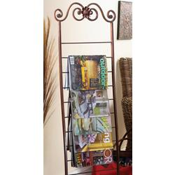 Freestanding Magazine Rack