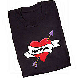 Personalized All Heart T-Shirt