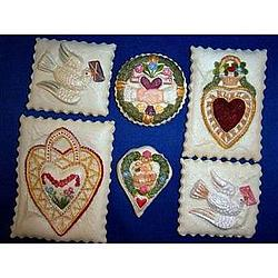 Valentine Hands to Heart Cookie Gift Tin