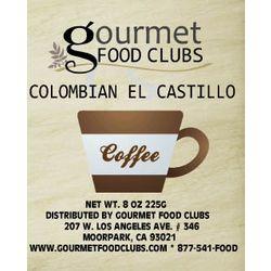 Colombian El Castillo Coffee