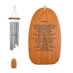 Psalm 23 Reflections Meditation Windchime