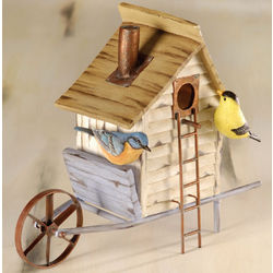 Wagon Bird House