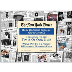 New York Times Baby Boomers Through Generation Z Newspapers