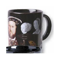 Henry VIII & His Disappearing Wives Ceramic Mug