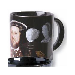 Henry VIII & His Disappearing Wives Ceramic Mug