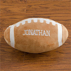 Personalized Kid's Football Pillow