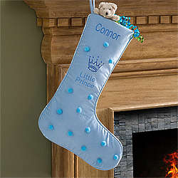 Little Prince Personalized Christmas Stocking