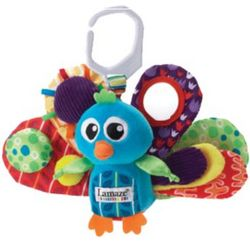 Jacque the Peacock Baby Toy
