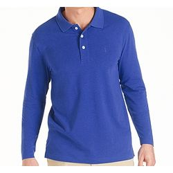 Men's Tropical Weight Long-Sleeve UPF Polo