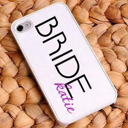Personalized Bride Signature Cell Phone Case