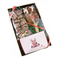 Seasons Greetings Chocolate Christmas Box