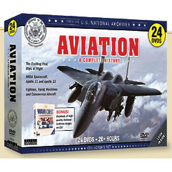 A Complete History of Aviation 24 DVD Set