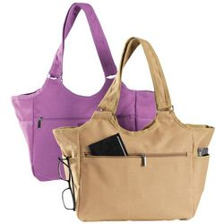 Canvas All Around Handbag