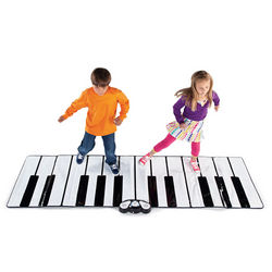Giant Piano Floor Play Mat with Speaker