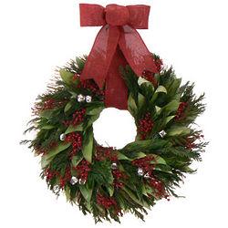 Jingle Joy Variation Dried Floral Wreath