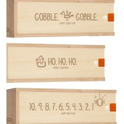 Holiday Wine Box Gift Pack