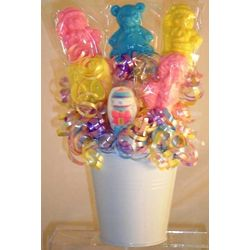 Welcome Baby Mini Lollipop Bouquet