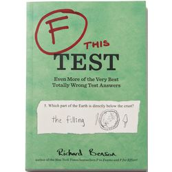 F This Test Even Wrong Test Answers Book