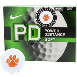 Nike Power Distance Soft Collegiate Personalized Golf Balls