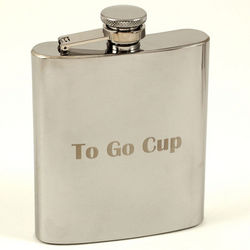 To Go Cup Stainless Steel Flask