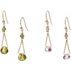 Swing Gemstone Earrings