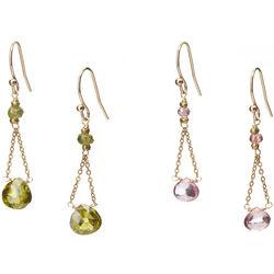Swing Gemstone Earrings