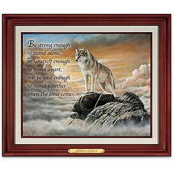 Wolf Art Print Wall Decor