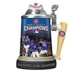 Chicago Cubs 2016 World Series Champions Porcelain Stein