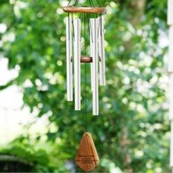 """Your Life Was a Blessing"" Soothing Memory Windchime"