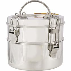 2-Tier Stainless Lunch Box